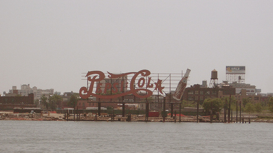 Pepsi sign from Long Island City