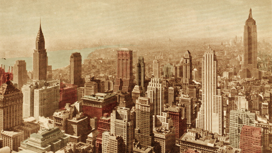 Southern view of Manhattan