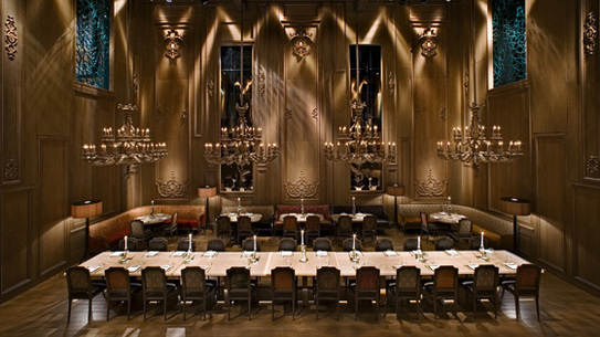 The scout dining bars asian buddakan