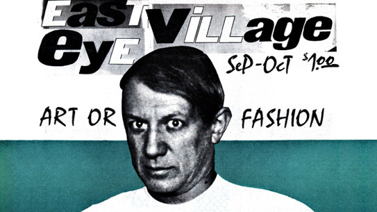September / October 1980 issue of East Village Eye.